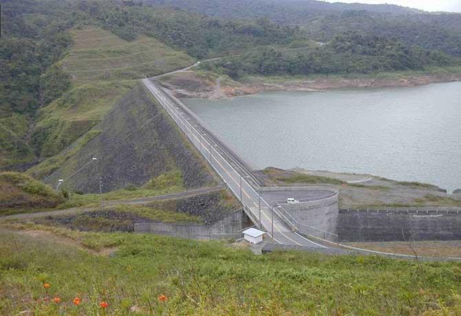 Barrage hydroélectrique fortuna au panama