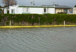 protection anti inondation d'un quartier en nouvelle zélande