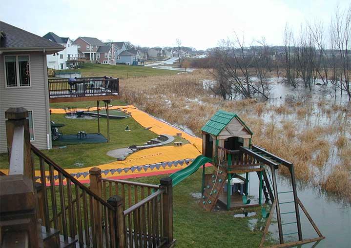 Overstromingsbescherming voor een huis