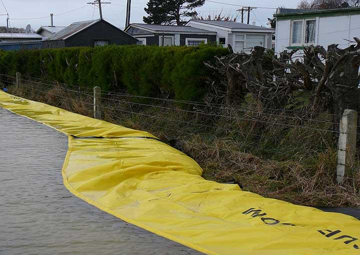 Overstromingsbescherming voor een woonwijk