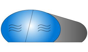 pictogramme boudin géant