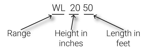 Uitleg over de range WL anti overstromingen dammen