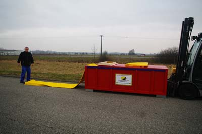 bescherming tegen overstromingen in doos 1