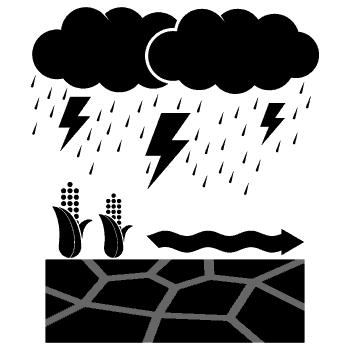 inondation boueuse
