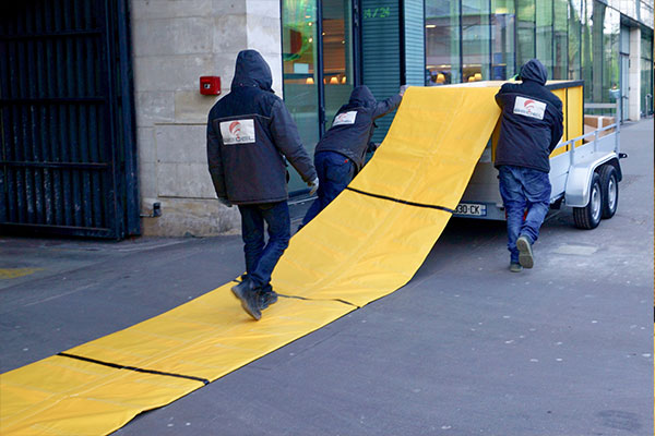 protection anti crue rapide d'urgence