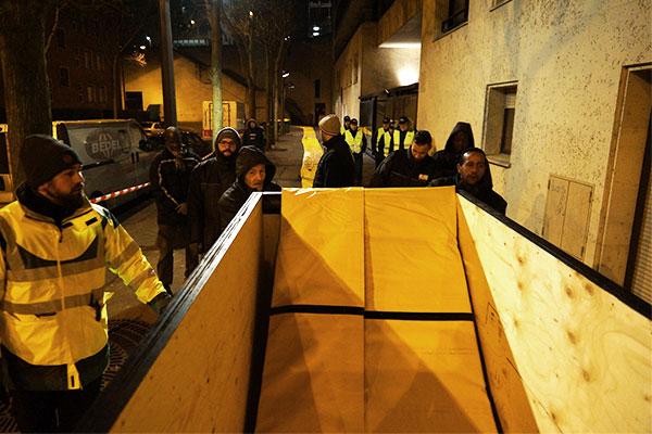 protection inondation d'urgence à Paris