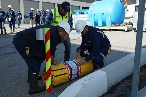 EDF sel baskınına karşı korumanın sunumu