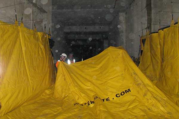 protection inondation de 2 m de haut pour la SNCF