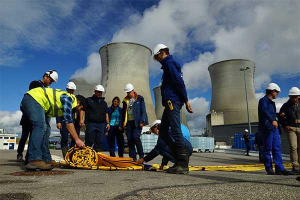 Nükleer merkez sel baskınına karşı koruma
