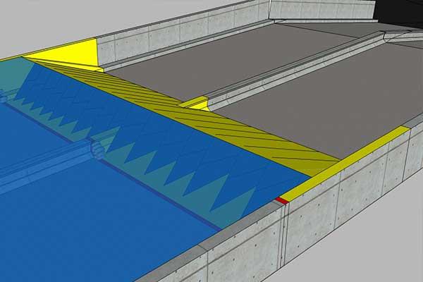 protection inondation parking souterrain Nîmes