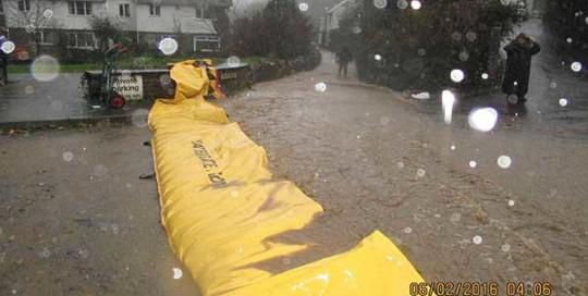 protection inondation quartier coulée de boue