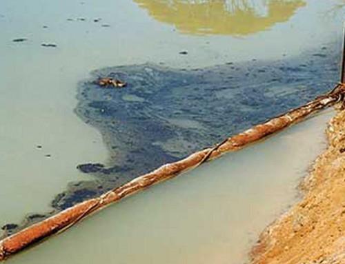 Barrage flottant hydrocarbures
