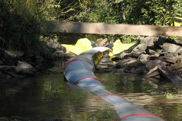 tuyau de rallonge pour déversoir de batardeau