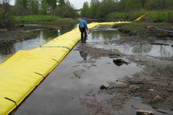 batardeau déviation de rivière et assèchement