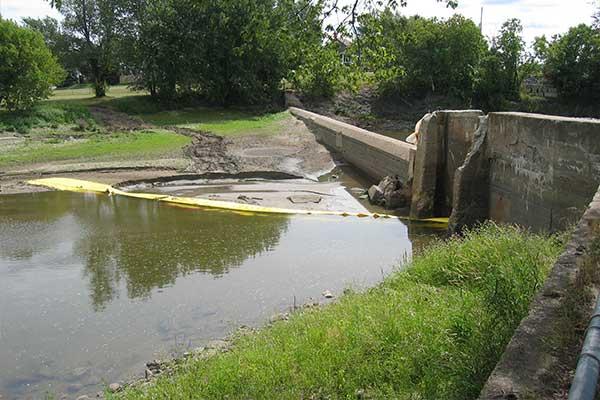 déviation batardeau rivière ouvrage