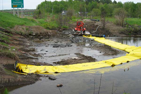 batardeaux remplacer buse en rivière