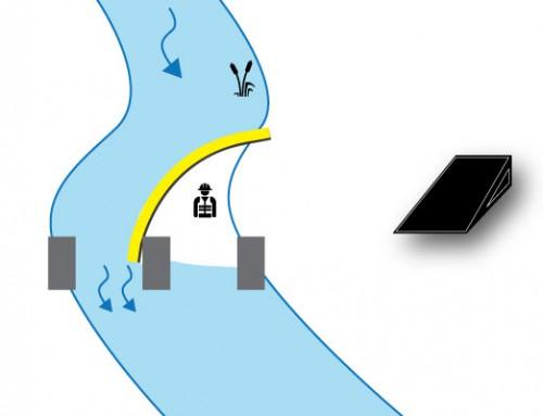 Cas 3 Batardeau en appui sur pile de pont