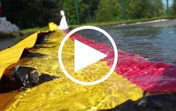 retention eau d'incendie en vidéo