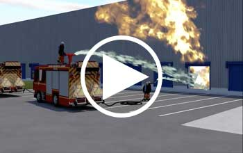 Feuerwasserretention im Video