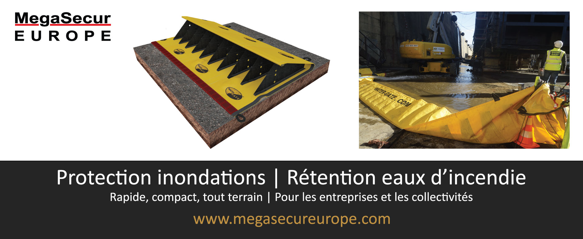 MegaSecur Europe Water-Gate pub Les echos