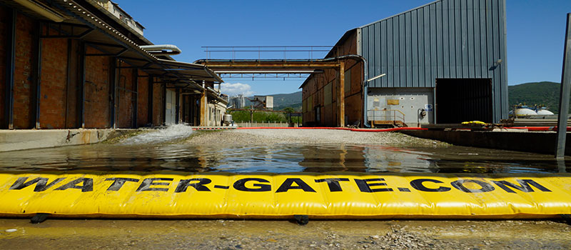 Barrage souple de confinement anti pollution d'urgence Water-Gate©