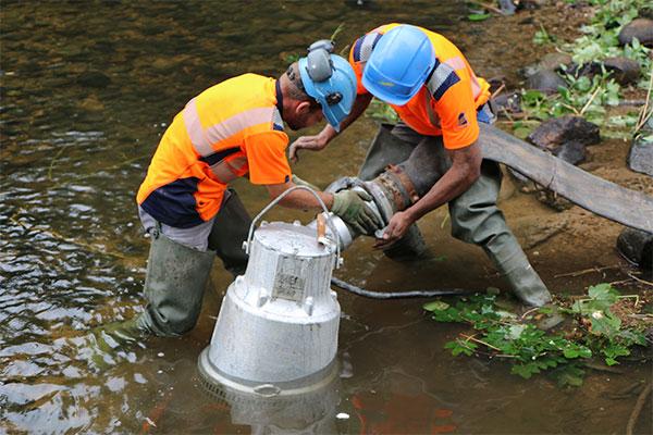 Installation Pompe 240m3/h Vologne Serpollet WaterGate