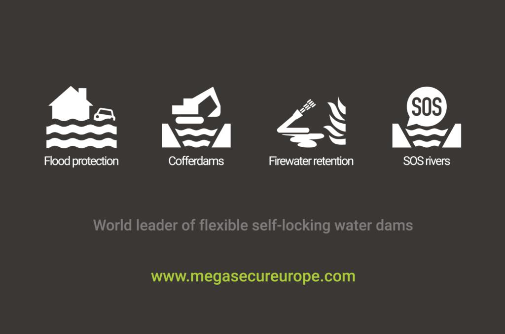 Leader mondial des barrages anti inondation souples autobloquants