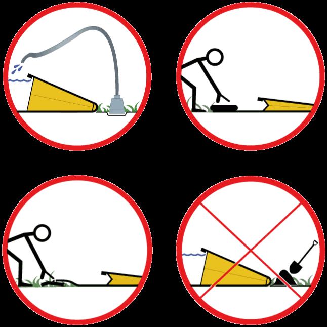 Les 4 règles d'or de l'installation d'un barrage anti inondation Water-Gate©